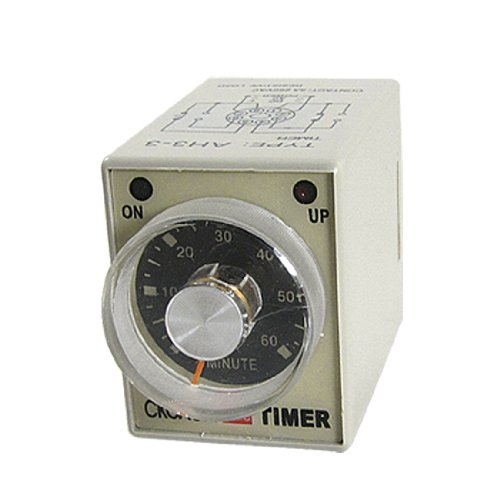 (Uxcell DC 24V Timing Delay Control 0-60 minutes Power on Up Range Time Relay)