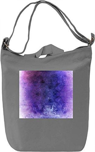 Painted Texture Borsa Giornaliera Canvas Canvas Day Bag| 100% Premium Cotton Canvas| DTG Printing|