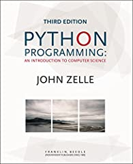 This third edition of John Zelle's Python Programming continues the tradition of updating the text to reflect new technologies while maintaining a time-tested approach to teaching introductory computer science. An important change to this edi...
