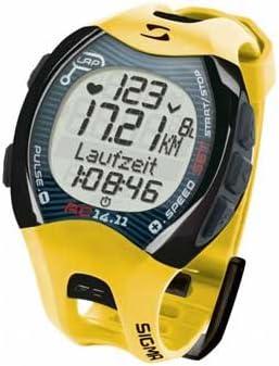 SIGMA RC 14.11 AMARILLO - Reloj con pulsómetro e indicador de ...