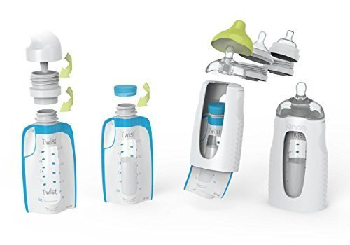 Kiinde Twist Universal Direct-Pump Breast Milk Collection, Storage, and Feeding System