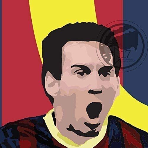 Barcelona Soccer Art Lionel Messi Poster