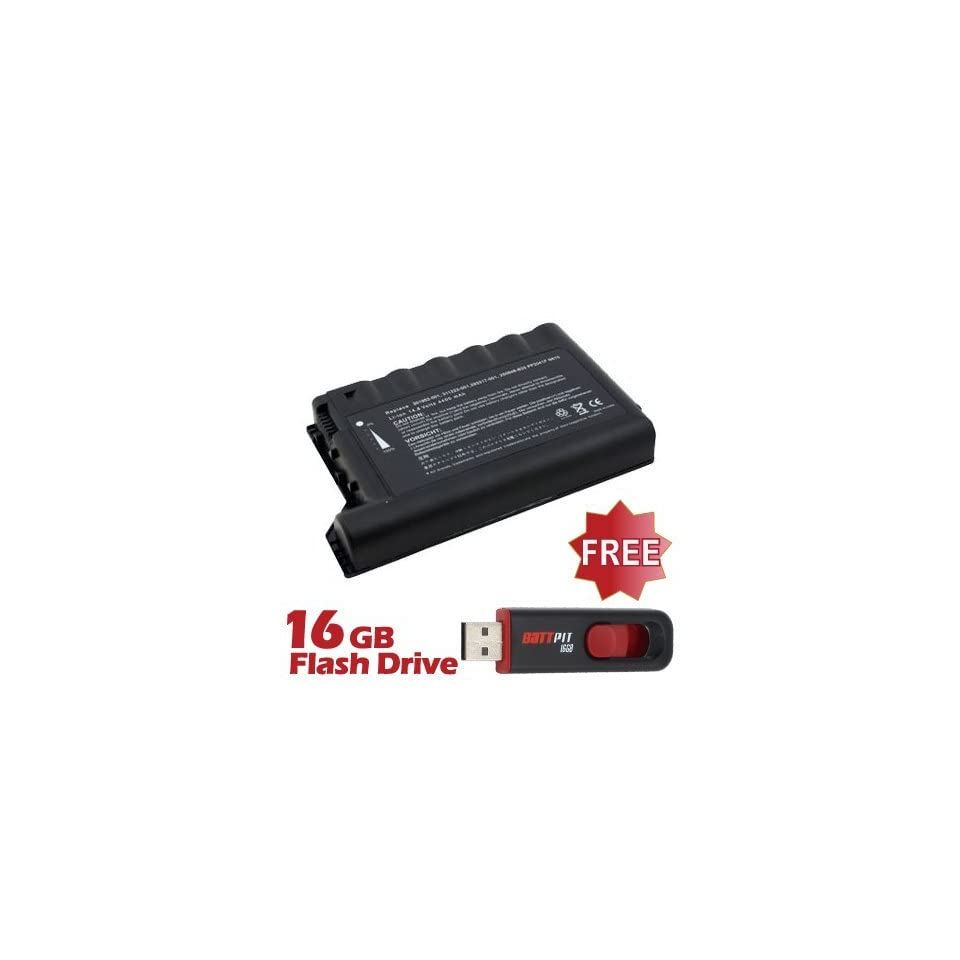 Battpit™ Laptop / Notebook Battery Replacement for Compaq LBCQEN600 (4400 mAh ) with FREE 16GB Battpit™ USB Flash Drive