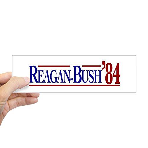 CafePress Reagan-Bush 84 Presidential E Sticker (Bumper) 10