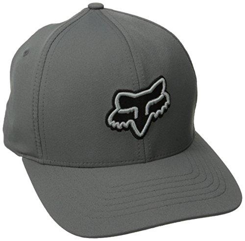 Fox Men's Exertion Flexfit Hat, Graphite, Large/X-Large
