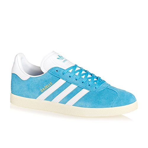 cheaper 2712f 4a5b2 Galleon - Adidas Originals Gazelle Shoes 11.5 D(M) US Brcyan ftwwht cwhite