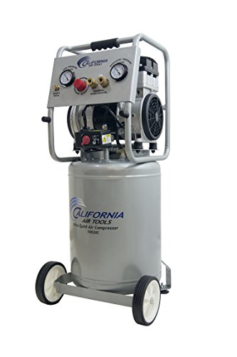 California Air Tools 10020CAD Ultra Quiet, Oil-Free and Powerful 2 Hp Air Compressor with Auto Drain Valve