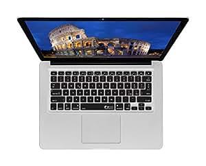 Y Italian Keyboard Cover for MacBook (Unibody) - ISO QWERTZ (ITA-M-CB-2)