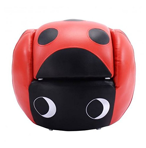 MD Group Kids Sofa Insect Shaped PVC & Sponge Lightweight Furniture with Ottoman by MD Group