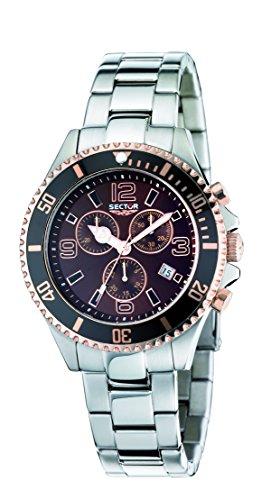 Sector Men's R3273661004 Marine 230 Analog Stainless Steel Watch