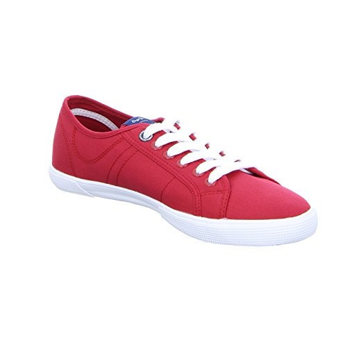 Pepe Jeans London Aberman 2.1, Zapatillas para Hombre Rot (Factory Red)