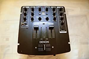 Denon DN - Mesa de mezclas (2 canales), color negro