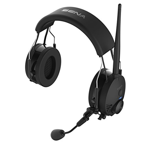 Sena Tufftalk-01 Black Earmuff Bluetooth Communication and Intercom Headset