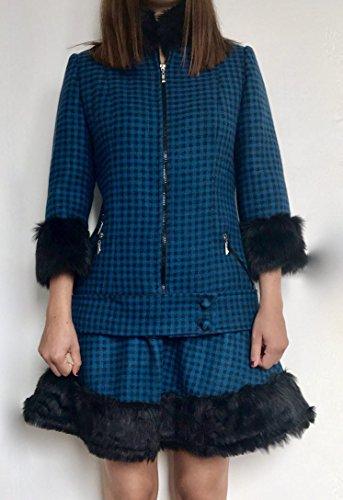 Women short coat and skirt by Shaghayegh Tafreshi Fashion House