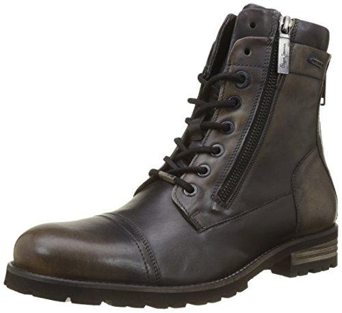Pepe Jeans Men Melting Flex Heritage Classic Boots, (Factory Blk) Brown (Factory Blk 997)
