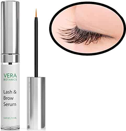 758d5242a6d Longer and Thicker Looking Eyelashes & Eyebrows! Vera Botanics Lash & Brow  Serum Boosts Enhances