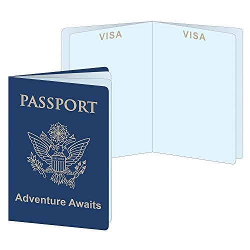 Beistle Around The World Passports | Travel, International & World Theme Party Favors (4 Count) ()