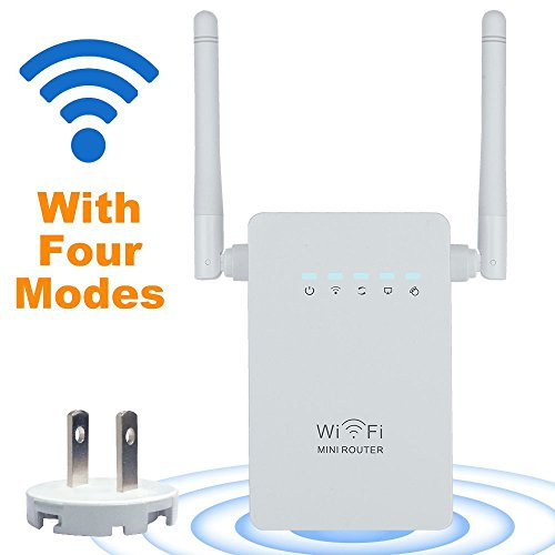 Wifi-router-WOSUK-Network-Wifi-Range-Extender-AC300-Wireless-Booster-Mini-RouterRepeaterAP-Wifi-Booster-With-Antennas-and-Wireless-n-Access-Poin-Signal-Booster-Wps-Dual-Antennas