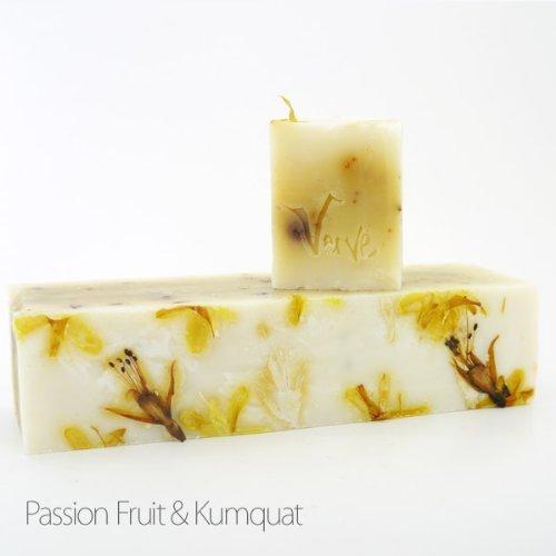 Savon Passion Fruit & Kumquat Natural Organic Handmade French Soap 100g by Verve Design