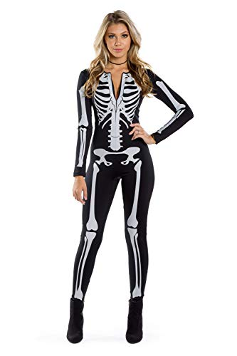 41zZCvH2HXL - Tipsy Elves Women's Skeleton Halloween Costume