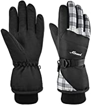 MCTi Waterproof Ski Gloves 3M Thinsulate Winter Warm Snow Gloves for Women Youth