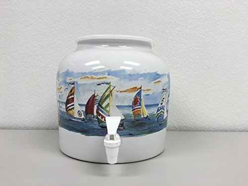- Ceramic Water Dispenser- Sail Away
