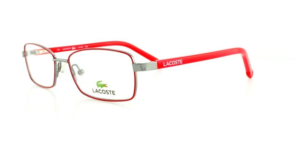 307a23d3b9b28 Óculos de Grau Lacoste L3102 045 48 Prata  Amazon.com.br  Amazon Moda
