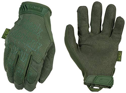 Mechanix The Original Glove, OD Green, Medium (Green Glove Mechanix)