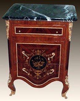 Barock Kommode Rokoko Antik Stil Louis XV MoBd04793