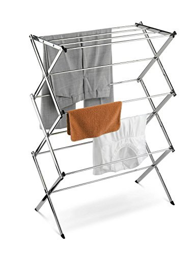 Amazoncom Home It Folding Clothes Drying Rack Laundry Drying Rack