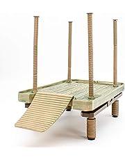 Penn-Plax Reptology Floating Turtle Pier i Basking Platforma - dekoracyjna, funkcjonalna i naturalnie inspirowana - duża (numer modelu: REP603)
