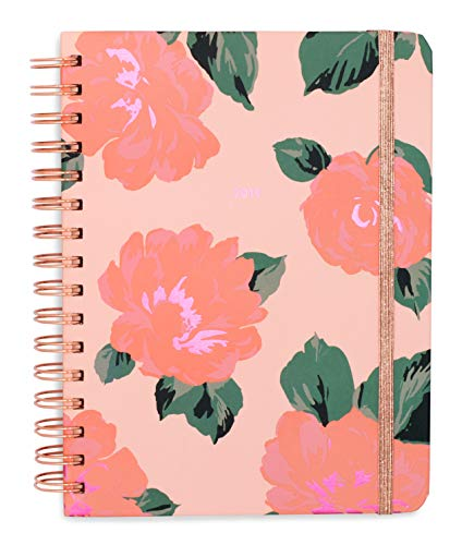 ban.do Medium 2019 12-Month Annual Hardcover Planner with Daily, Weekly, Monthly Spreads for January 2019 - Dec 2019, 8 x 6.5, Bellini