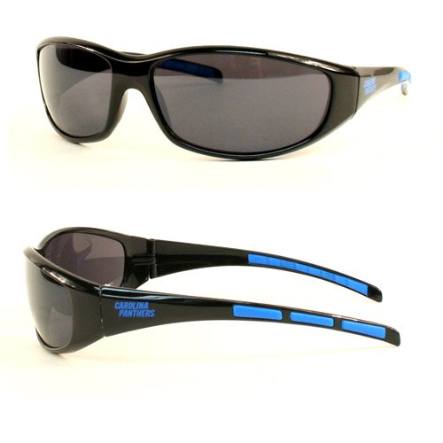 NFL Team 3 Series Style Sport Sunglasses (UV 400 protection) (Carolina - Panther Sunglasses