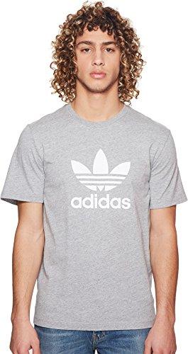 adidas Originals Men's Trefoil Tee Medium Grey Heather X-Large