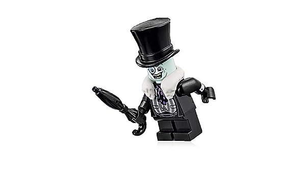 LEGO The Penguin - Paraguas de piel blanca con diseño de Batman: Amazon.es: Juguetes y juegos