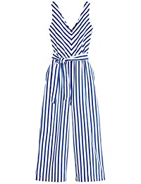 J.Crew Women's Knit Stripe Jumpsuit