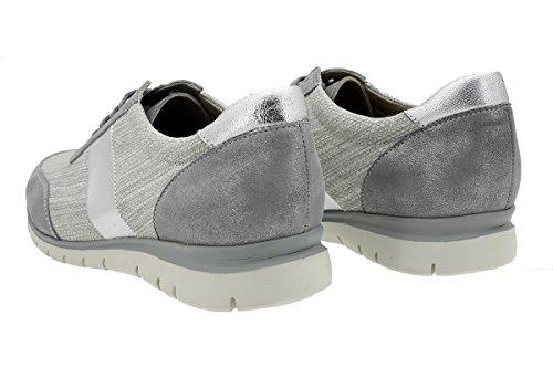 Gris Zapato Piesanto Ante Confort 180991 Metal Sneaker qwESxCfB
