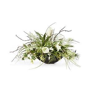 Petals Lilac, Dogwood & Tulip Silk Flower Centerpiece 6