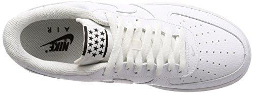 Nike Herren Air Force 1 07 Elfenbein Basso-alto (whitewhiteblack 101)