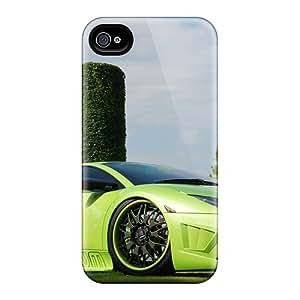 Iphone 6 Beautifull Green Lamborghini Print High Quality Frame Cases Covers