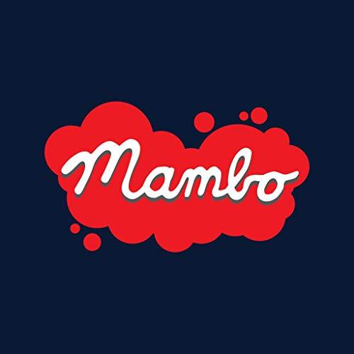 Logo Paint T Mambo Blue Navy Retro Women's shirt Splatter PZnnOFS