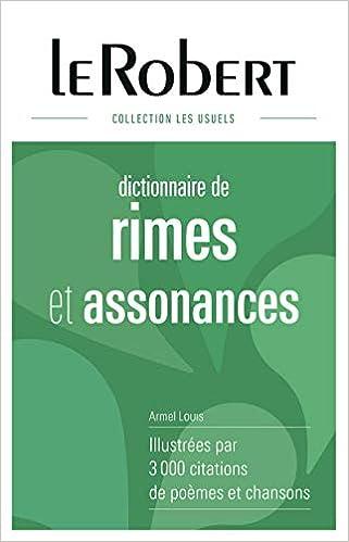 Dictionnaire des rimes et assonances - Grand format