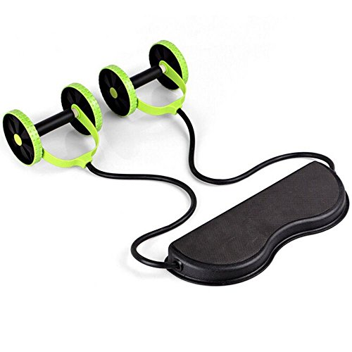 Gym Abdominal Abs Roller Waist Wheel Handle Workout Machine Fitness Exercise