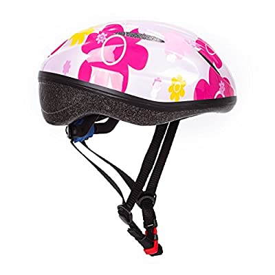 KIDS Bike Helmet –Adjustable from Toddler to Youth Size, Ages 5-14 - Dostar Youth Girls Bike Helmet Cycling Scooter Multi-sport Durable Kid Bicycle Helmets Boys and Girls will LOVE from Dostar