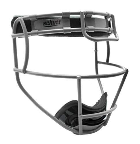 Schutt Sports Youth Softball Fielders Faceguard, Titanium Silver 12265042