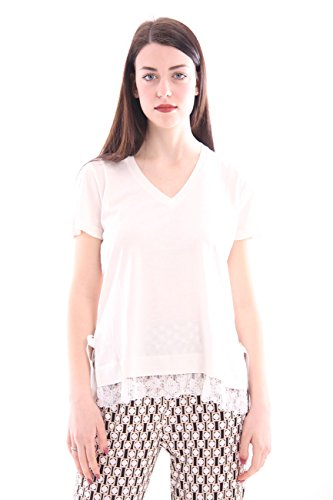 Seventy Lace Cotton With White Mujer Inserts shirt T zpzaBq8n