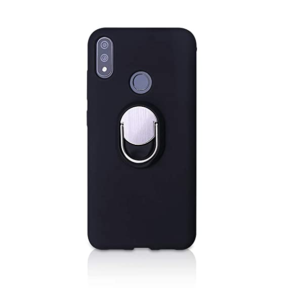 more photos ad9f2 c539d BLU VIVO XI+ Case, Rotating Ring [ 360°Kickstand ] Soft Slim TPU [  Ultra-Thin ] Protection Cases Cover Compatible with [ Magnetic Car Mount ]  for BLU ...
