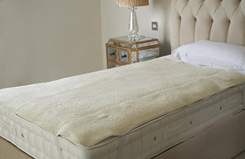 -[ Dreamland Intelliheat Fast Heat Premium Soft Fleece Electric Underblanket, Natural, Single Size