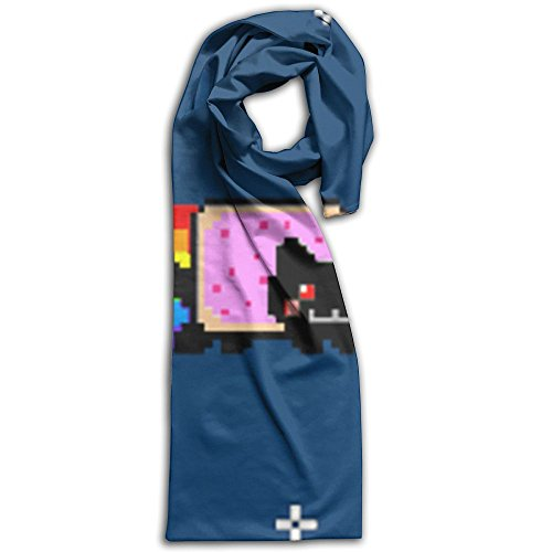 Cute Nyan Cat Wallpaper Winter Scarves Lightweight Warm Towel Stylish Shawl Scarf - Burberry Size Guide
