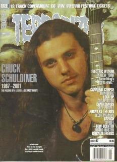 Terrorizer Magazine: Chuck Schuldiner 1967-2001 [Issue 97]